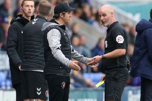 Joey Barton picked up a yellow card at the weekend