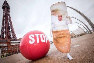 Stoptober hits the streets of Blackpool to encourage locals to split up from smoking this October. For free support and tips on how to quit, visit the Stoptober website