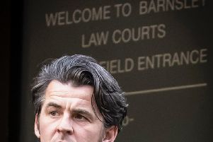 Fleetwood Town boss at court today in Barnsley
