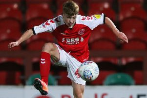 Fleetwood Town's Cian Hayes      Picture: Fleetwood Town
