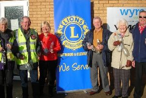 Fleetwood and Cleveleys Lions make a point with bottles