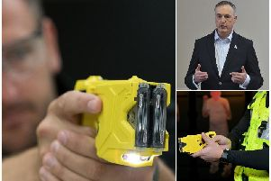 Lancashire Police hopes to train 920 officers to use tasers over next five years