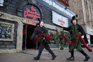 Anyone who brings a dead Christmas tree will receive free admission to The Blackpool Tower Dungeon  Picture:  Jason Lock Photography