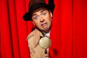 Jason Manford in Curtains