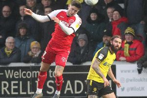 Wes Burns wants Fleetwood to put their disappointment at Burton Albion behind them