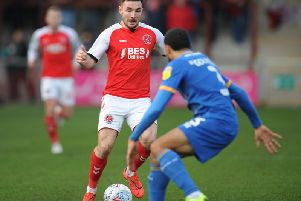 Joey  Barton will be in the loan market for the rest of the month but says that Lewie Coyle (above) shows the advantage of permanent deals
