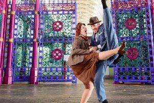 Expert lindy hoppers will be sent out to counties across the north west to help people Dance for VE Day, a day of celebrations organised by English Heritage to mark the 75th anniversary of the end of the Second World War. Picture courtesy English Heritage