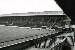 The South Stand at Blackpool Football Clubs Bloomfield Road stadium, which needs major redevelopment