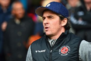 Fleetwood boss Joey Barton has been charged with using abusive language towards a match official.