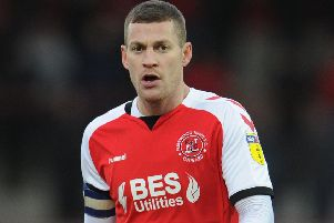 Paul Coutts has started fewer matches lately for Fleetwood Town