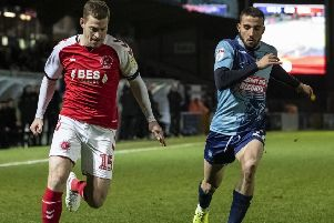 Fleetwood Town's Paul Coutts