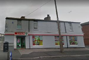 A member of staff has been threatened with a knife before his assailant climbed over the counter and stole cash from the till at around 6pm last night (February 19)