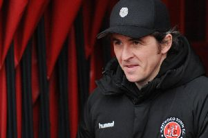Joey Barton was overcome with emotion as he spoke of his pride in his Fleetwood squad
