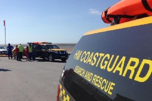 Fleetwood Coastguard, the police and Blackpool Council's Beach Patrol all attended the scene on Tuesday at around 2.45pm.