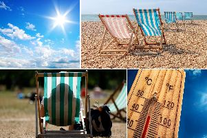 Temperatures are now on the rise again with the heatwave set to return to England, as the country returns to more humid, muggy weather in the run-up to the last Bank Holiday weekend of the year