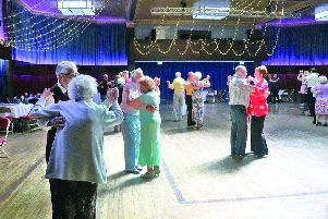 A tea dance organised by Wyre Council