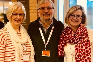 Chris Hedley from Christ Church, Fulwood, Preston; Paul Adnitt from St Gabriels Church in Blackburn and Penny Waters, from St Chads Poulton-le-Fylde