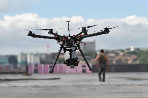 Drones like this brought Gatwick Airport to a standstill