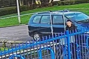 Police want to speak to this man (Image: Lancashire Police)