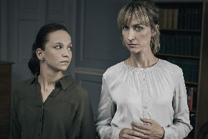 Molly Windsor and Katherine Kelly starred in Cheat this week