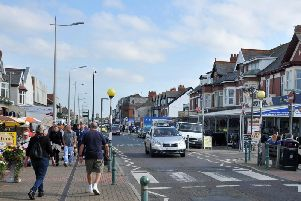Victoria Road West in Cleveleys, pictured in September 2015