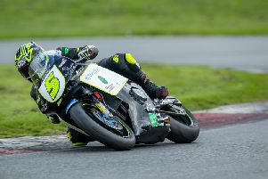 Ryan Garside leads the Thundersport GB after three rounds   Picture: COLIN PORT IMAGES