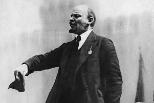 Lenin. See letter from Dr Barry Clayton