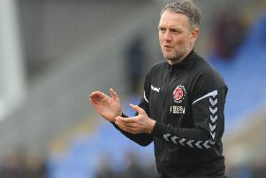 Fleetwood's Clint Hill says his move into coaching was a natural progression