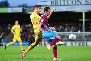 Josh Morris in action for Scunthorpe against Fleetwood last season