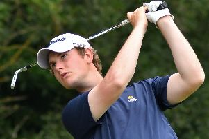 Nicholas Peoples of Royal Lytham and St Annes has won through to final qualifying for The Open Championship  Picture: BRIAN CLARK