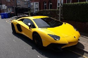 This 290,000 Lamborghini Aventador was seized in Greater Manchester for having no insurance