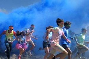 Head to the beach in Blackpool for Colour Splash