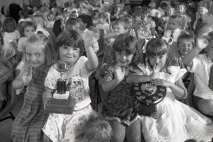 Who needs a reason for a party? Certainly not this gang of little revellers. Tiny tots from Euxton Playgroup, near Chorley, lapped up the special celebrations in the parish hall without a second thought. It didn't matter to them that the playgroup had just come of age - and was celebrating the milestone of 21 years in existence