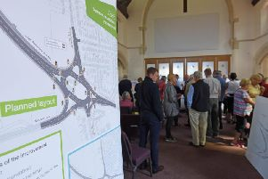 The public has been consulted on the improvements to the A585 Norcross roundabout