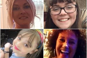 Manchester Arena victims Michelle Kiss, Georgina Callander, Saffie Roussos and Jane Tweddle