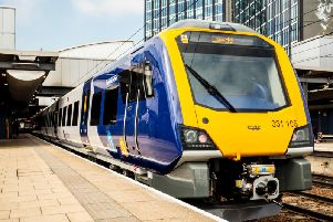 One of the new type of trains that will operate between Blackpool North and Liverpool Lime Street from early September 2019.