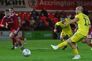 Paddy Madden scores for Town