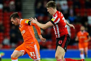 Fleetwood Town's new arrival Jimmy Dunne in action for Sunderland last season