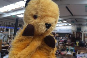 The original Harry Corbett Sooty puppet up for auction this week