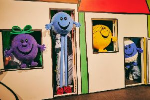 The Mr Men & Little Misses On Stage show is at the Plowright this month.