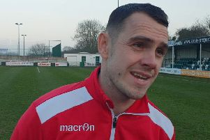 """Manager Liam King unhappy wigth """"naieve"""" Gainsborough Trinity"""