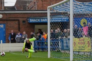 We were not good enough, says Gainsborough Trinity manager Liam King after 1-0 home defeat