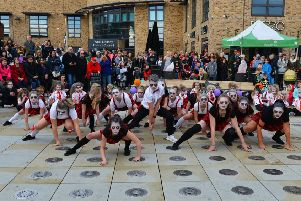 The Studio Dance Troupe at last years Halloween Event