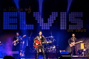 Rob Kingsley presents his show A Vision of Elvis at the Baths Hall next month.
