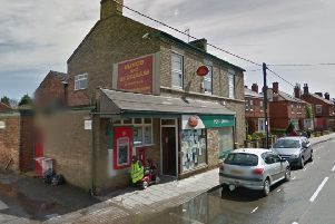 The former Saxilby Post Office. Photo: Google.