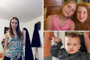 Police are  so concerned about missing Emma, and her children Laylah, Amelia and Kenzie a nationwide search has been launched to find them