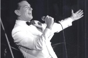 Robert Habermann stars in His Way - The Songs and Life of Frank Sinatra at Trinity Arts Centre this month.