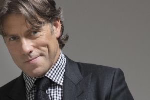 John Bishop will play two dates at the Baths Hall this autumn.