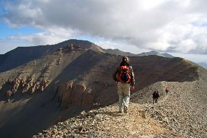 You can take on the Morocco Three Peaks trek challenge.