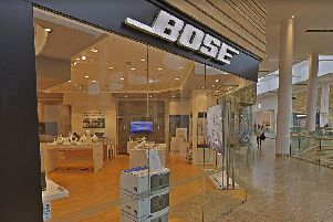 Bose is closing all its UK stores, including Meadowhall.